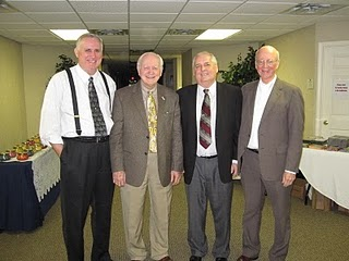 Al Gist, Dr. David Reagan, Bill Salus and Dr. Jobe Martin