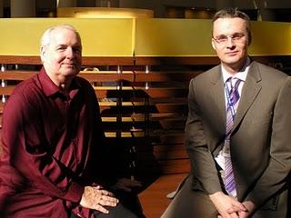 Bill Salus and Dr. Paul Wilkinson