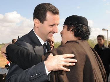 Assad and Gaddafi