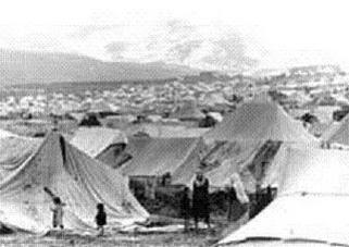 Baqaa refugee camp of Palestinian Refugees