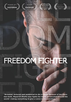 Majed El Shafie on his film Freedom Fighter